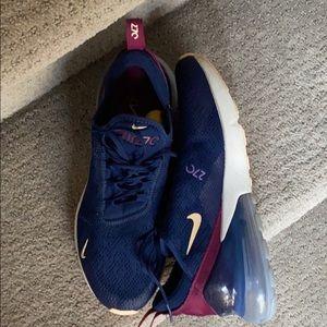 Like new Nike Air270's.
